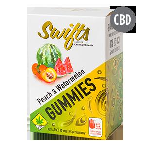 Swifts-Gummies-Peach-Watermelon-THC-300-cbd