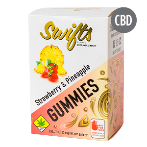 Swifts-Gummies-Strawberry-Pineapple-THC-300-cbd